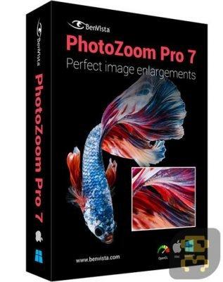 دانلود Benvista PhotoZoom Pro 8.0.6 - ساخت و ویرایش عکس های بزرگ