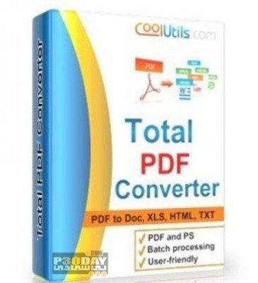 نرم افزار تبدیل اسناد PDF با Coolutils Total PDF Converter 5.1.28776