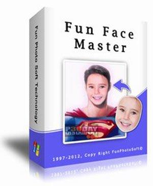 نرم افزار تعویض صورت در عکس Fun Face Master 1.72 Final