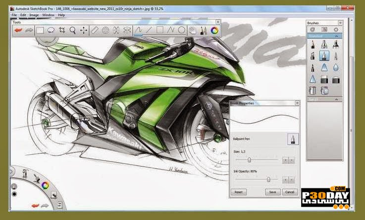 Autodesk SketchBook Pro For Enterprise 2020.1 V8.6.6 + Crack