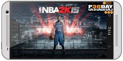 NBA 2K15 1.0   بازی اندروید بسکتبال ان بی ای 2015