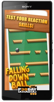 Falling Down Ball PRO v3.5.1.3   بازی اندروید