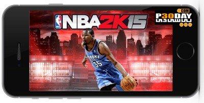 NBA 2K15 v1.0   بازی بسکتبال ان بی ای 2015 برای آیفون