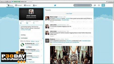 Lynda Video - Up And Running With Twitter