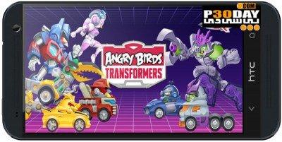 Angry Birds Transformers v1.1.25 بازی اندروید پرندگان خشمگین