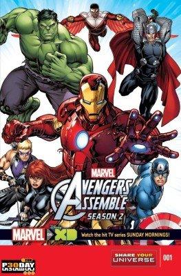 دانلود فصل دوم انیمیشن سریالی Avengers Assemble 2014