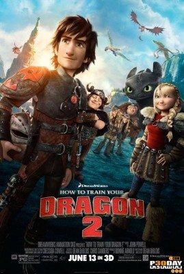 دانلود دوبله فارسی انیمیشن How to Train Your Dragon 2