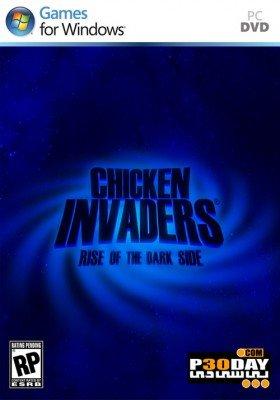 دانلود بازی مرغ های مهاجم Chicken Invaders 5 Cluck of the Dark Side