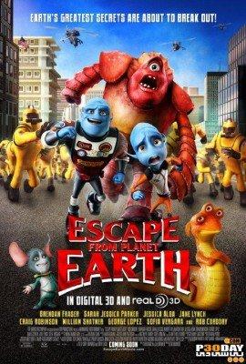 دانلود دوبله فارسی انیمیشن Escape from Planet Earth 2013