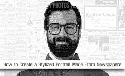 Educational Video Portrait Design On Photoshop