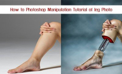 ویدیو آموزشی How to Photoshop Manipulation Tutorial of leg Photo