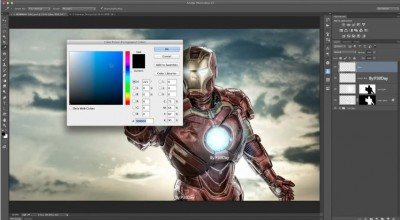 PHOTOSHOP TUTORIAL The MAGIC of Color Dodge-Screenshot-P30day