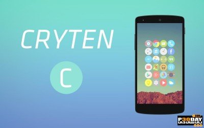Cryten   Icon Pack 6.1.0   پکیج عظیم آیکون اندروید