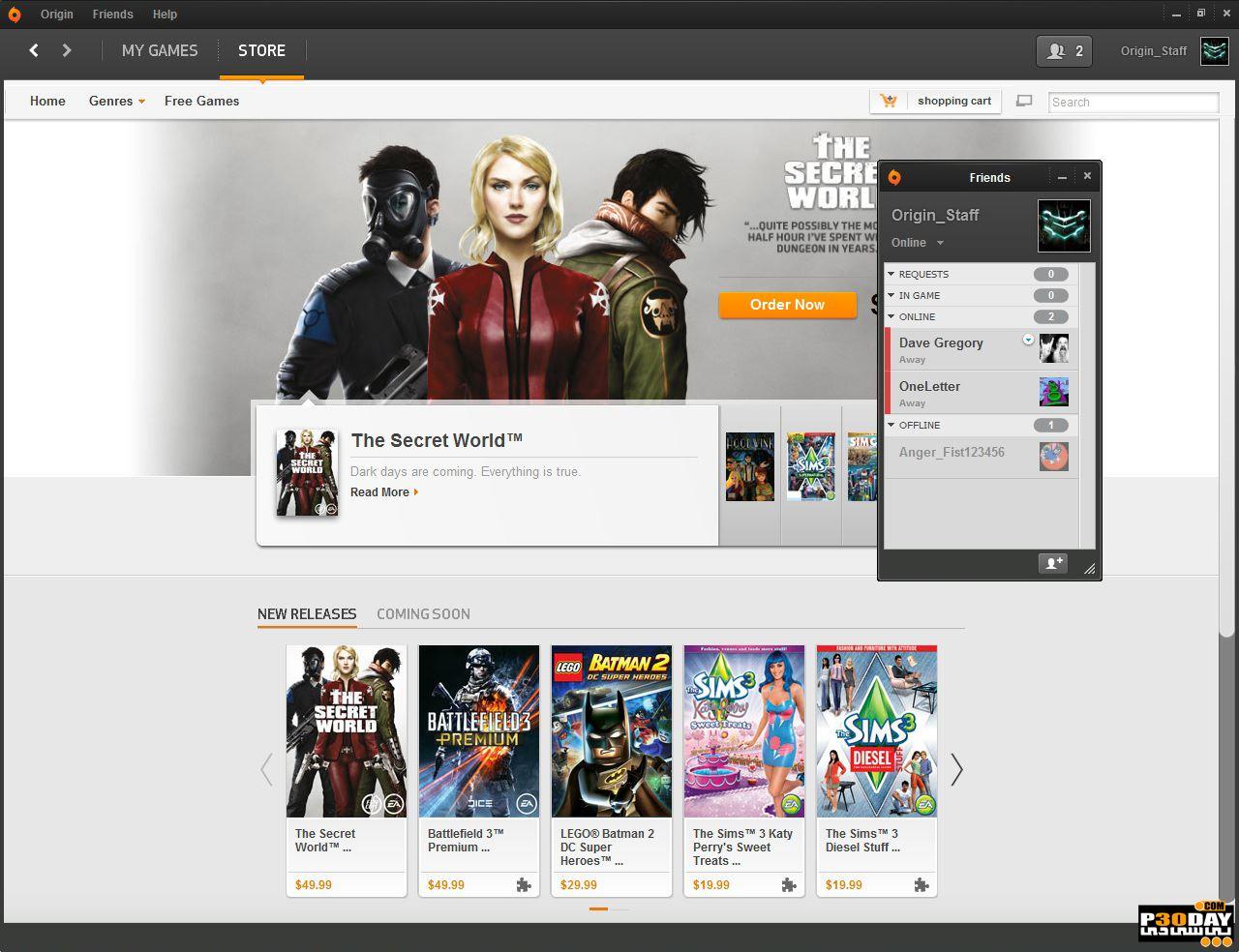 Origin V10.5.33 - EA Games Execution Program