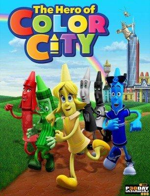 دانلود کارتون قهرمان شهر رنگی The Hero of Color City 2014