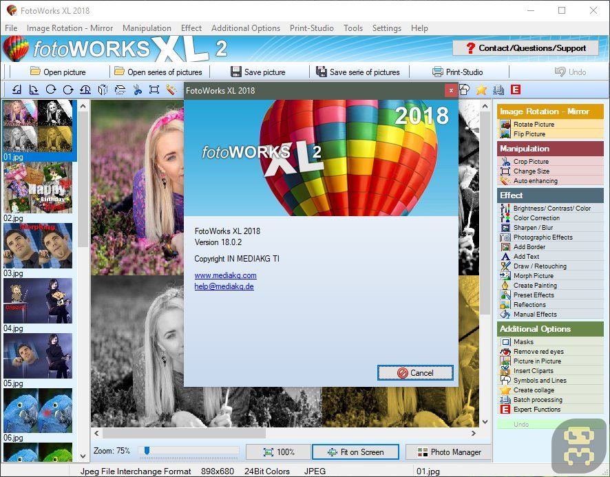 FotoWorks XL 2020 V20.0.0 - Digital Image Editing