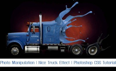 Educational Video Truck Design In Photoshop CS6