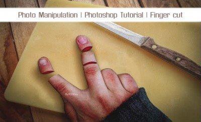 Fingerprint Educational Video In Photoshop