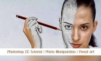 Educational Video Pencil Art In Photoshop