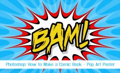 Video Tutorials On Comic Poster Design In Photoshop