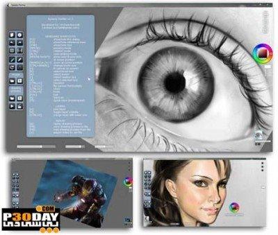دانلود Speedy Painter 3.6.4 – کشیدن نقاشی های حرفه ایی در ویندوز