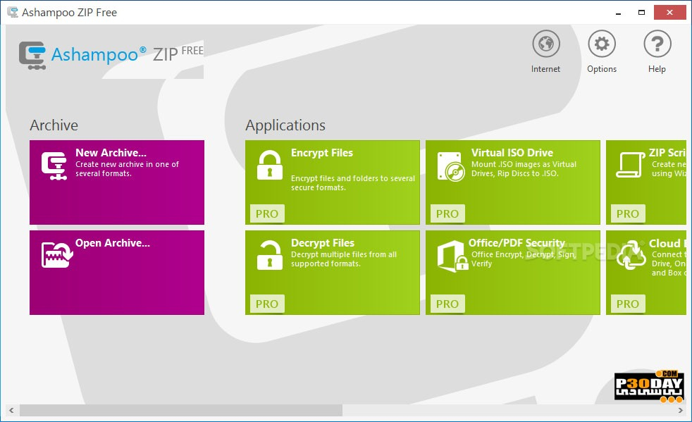 Ashampoo ZIP Pro 3.0.30 - Zip Management
