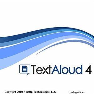 دانلود Nextup TextAloud 4.0.34 – خواندن متون و تبدیل آن به فایلهای صوتی