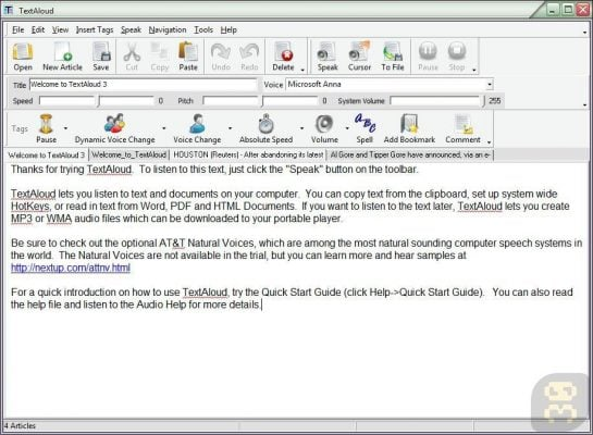 دانلود Nextup TextAloud 4.0.51 - خواندن متون و تبدیل آن به فایلهای صوتی