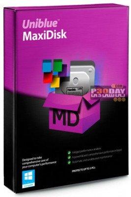 دانلود Uniblue MaxiDisk 1.0.9.3 – یکپارچه سازی هارد دیسک
