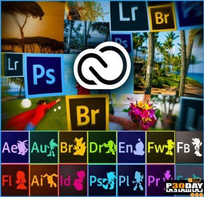دانلود Adobe Creative Cloud Collection March 2015 + کرک