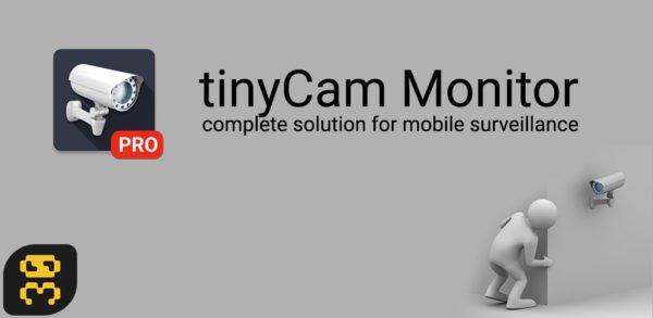 دانلود tinyCam Monitor PRO v14.5 - مشاهده دوربین های مدار بسته اندروید