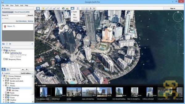 دانلود Google Earth Pro v7.3.3.7721 - گوگل ارت کامپیوتر ویندوز