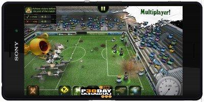 FootLOL: Crazy Soccer v1.0.1 – بازی فوتبال جنگی اندروید