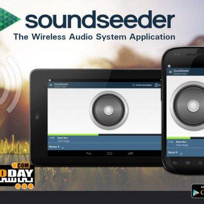 SoundSeeder Music Player Premium v2.2.0 – موزیک پلیر بی سیم اندروید
