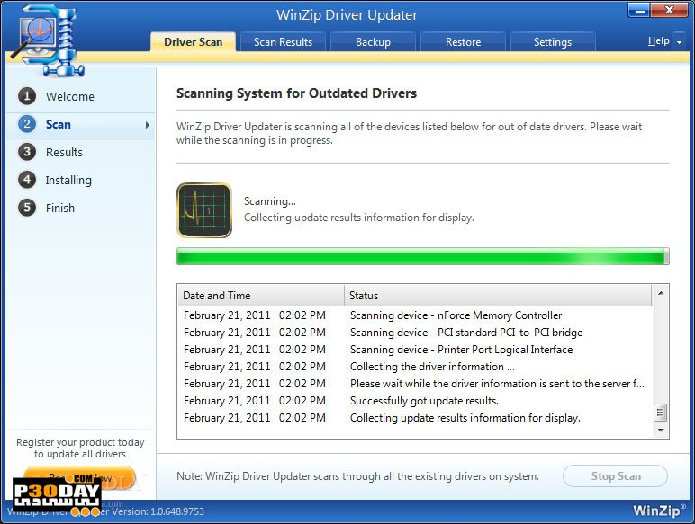WinZip Driver Updater 5.31.0.14 - Update Computer Drivers