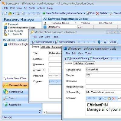 دانلود Efficient Password Manager Pro 5.50 B544  – مدیریت رمز عبور