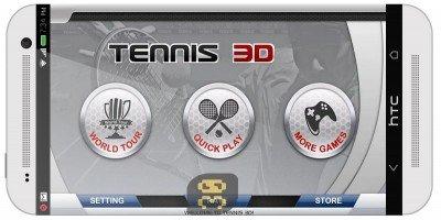 3D Tennis v1.7.0 – بازی تنیس اندروید