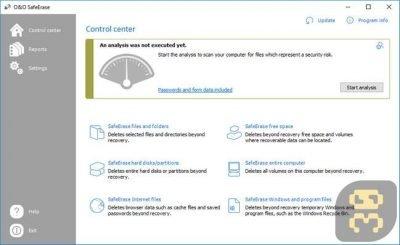 دانلود O&O SafeErase Professional 11.0.172 - حذف بدون بازگشت اطلاعات