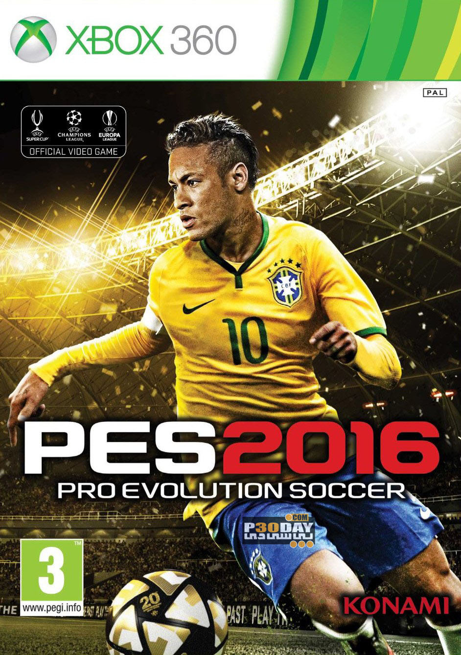 Pro Evolution Soccer 2016 For XBOX360