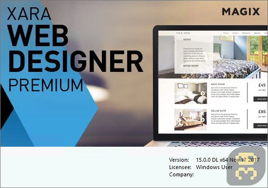دانلود Xara Web Designer Premium v17.0.0.58775 - برنامه طراحی وبسایت