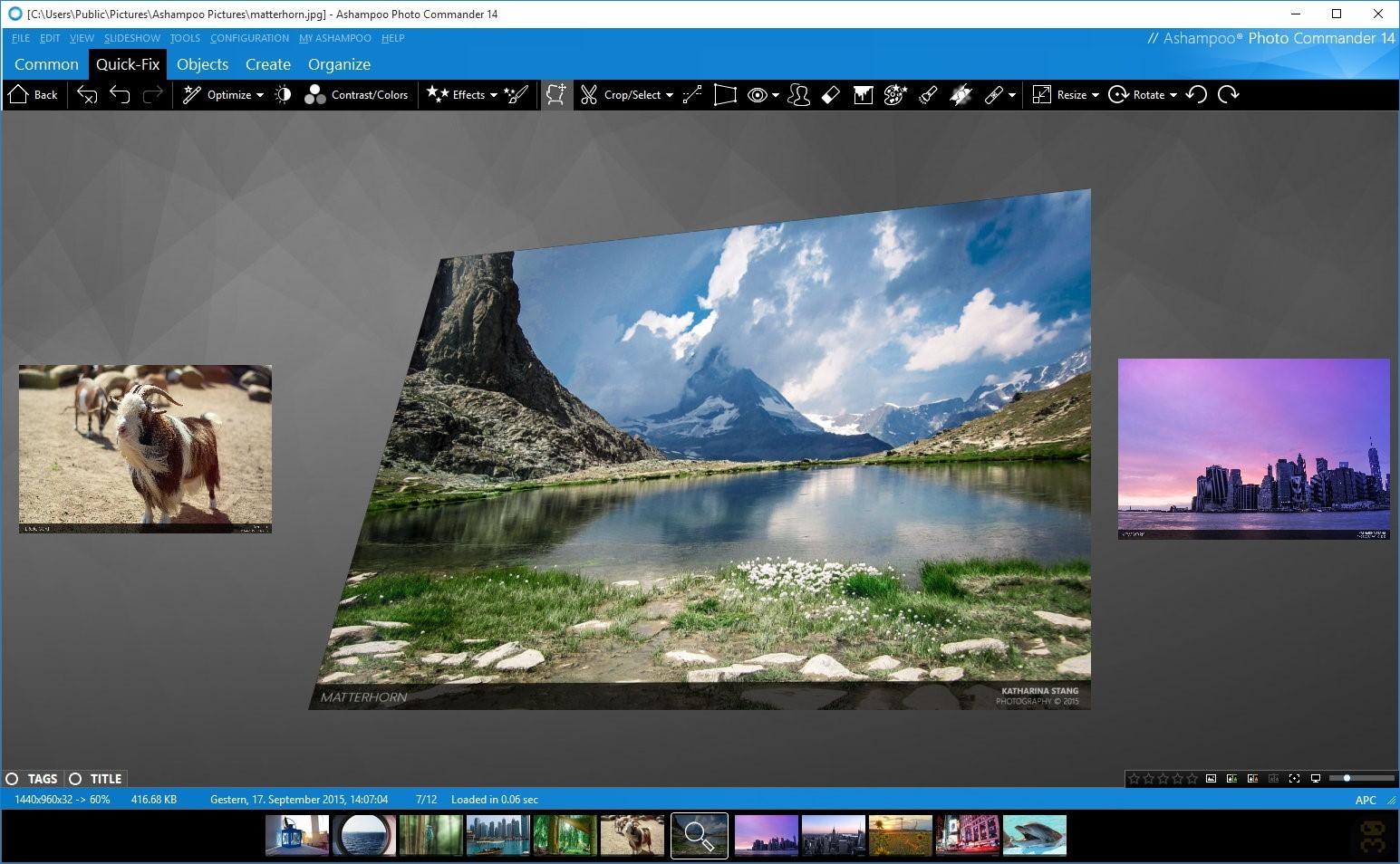 Ashampoo Photo Commander 16.0.5 - Professional Image Manager 2019-01-12