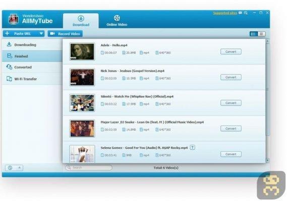 دانلود Wondershare AllMyTube 7.4.1.1 - دانلود کلیپ های سایت یوتیوب