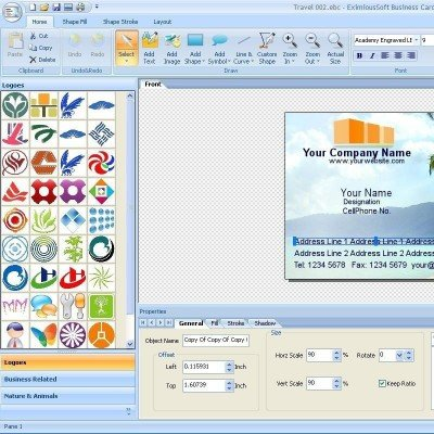 دانلود EximiousSoft Business Card Designer 3.61 – ساخت کارت ویزیت