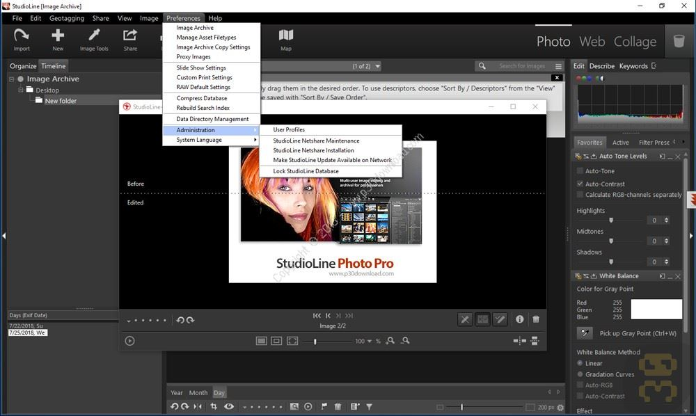 StudioLine Photo Pro 4.2.49 - Editing And Managing Large Images