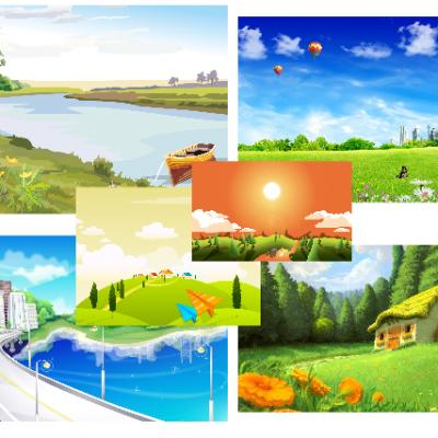 دانلود تم وکتور جدید ویندوز – Vector Backgrounds theme