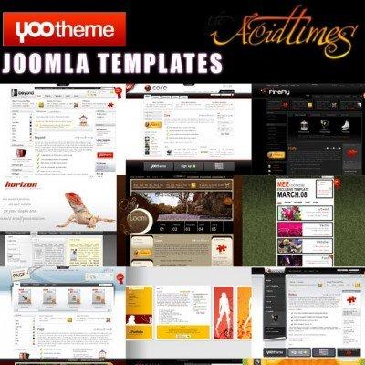 Yootheme Joomla Collection 2015 – دانلود سری کامل قالب آماده جوملا