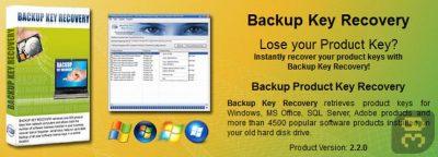 دانلود Nsasoft Backup Key Recovery 2.2.5.0 - پشتیبان گیری از سریال برنامه ها
