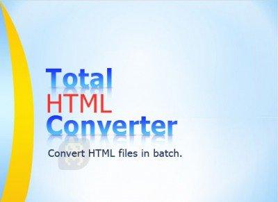 دانلود Total HTML Converter 5.1.0.126 - تبدیل HTML به دیگر اسناد