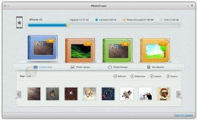 iMobie PhotoTrans 1.8.2 - مدیریت عکس های آیفون در ویندوز