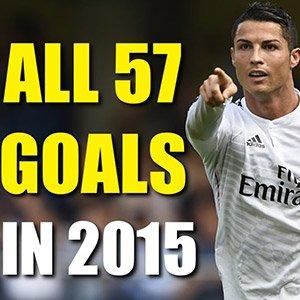 Ronaldo All 57 Goals 2015 – دانلود کلیپ تمامی گل های کریستیانو رونالدو 2015